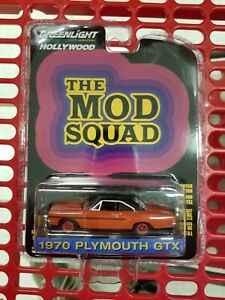 1:64 GreenLight *HOLLYWOOD 29* The Mod Squad 1970 Plymouth GTX *NIP*