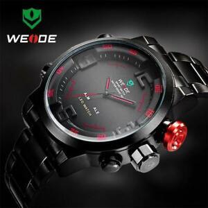WEIDE-WH2309-LED-Wristwatch-30m-Waterproof-Stainless-Steel-Strap-Sport-Watch-for