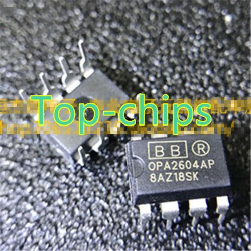10PCS OPA2604 OPA2604AP OPA2604APG4 Op Amp IC Burr-Brown//bb//TI DIP-8 Nuevo