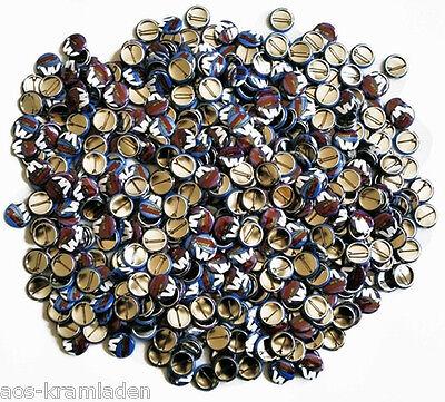Wähle 10 Button aus Ansteckplakette Bogennadel Kult Button 25mm