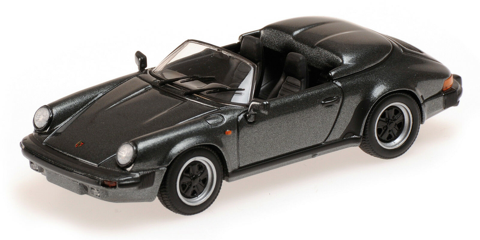 Porsche Speedster 1988 grau Metallic 1 43 Model Model Model 430066135 MINICHAMPS  | Internationale Wahl