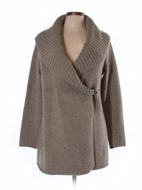 SUNDANCE CATALOGSoft CATALOGSoft CATALOGSoft Wool Blend Warm Wrap Winter Sweatercoat Duster SweaterM 6aa26c