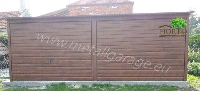 5,5x7 Schuppen Blechgarage Fertiggarage Metallgarage Gartenhäuser Container