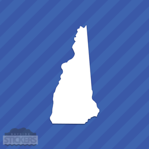 New Hampshire NH State Outline Vinyl Decal Sticker