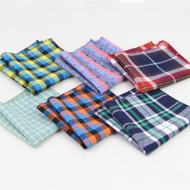 Pocket Square For Men Assorted Men Handkerchiefs /(30 Kinds of Colors/)