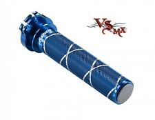 Apico Aluminium Throttle Tube Inc End Bearing SUZUKI RM125 RM250 95-08 BLUE