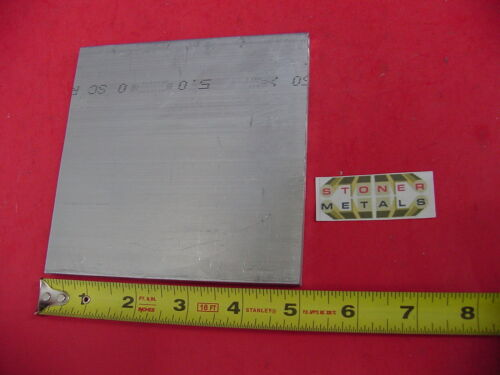 "2 Pieces 1//4/""x 5/"" ALUMINUM 6061 FLAT BAR 5/"" long T6511 Extruded Plate Mill Stock"