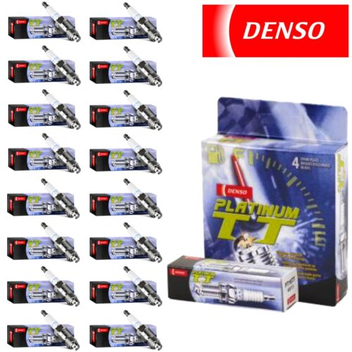 16 pc Denso Platinum TT Spark Plugs for Mercedes-Benz R500 5.0L V8 2006-2007
