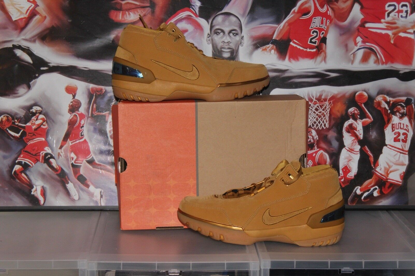 2018 2018 DS New OG Nike AIR ZOOM GENERATION AZG LEBRON All Star Wheat Comfortable Cheap and beautiful fashion