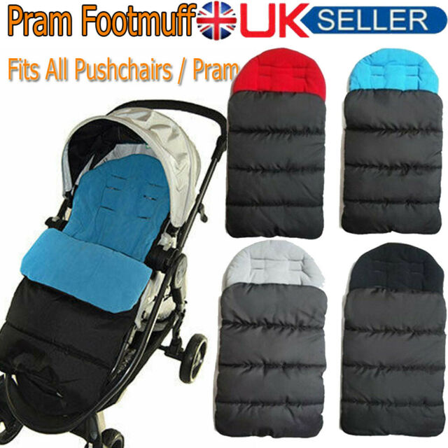 Footmuff Cosy Toes Compatible with Hauck Buggy Pushchair Cheap Stroller Pra...