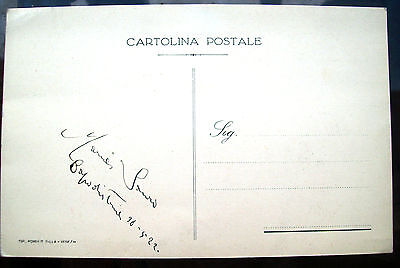 Other Militaria Amiable 1922 Exceptional Autograph Of Maria Sister Of Nazario Sauro From Koper