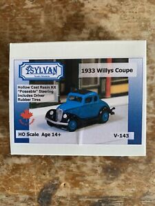 Sylvan-Ho-Scale-Model-1933-Willys-Coupe-Model-Railroad