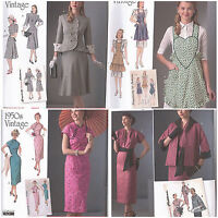 Simplicity Vintage Retro 1940s 1950s Sewing Pattern Misses Size You Pick