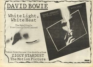 5-11-83PN56-ADVERT-DAVID-BOWIE-SINGLE-WHITE-LIGHT-WHITE-HEAT-7X11