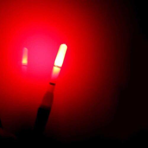 10pc elektronische leuchtende LED-Licht Bobber Nachtfischen Fishing Tackle B7I0
