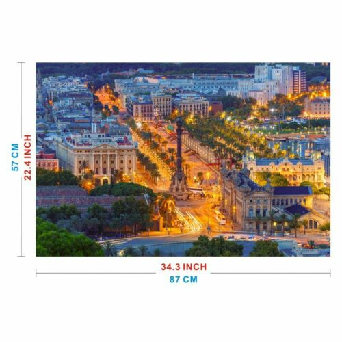 Spain by Wuundentoy 1,500 Pieces Jigsaw Puzzle Catalonia