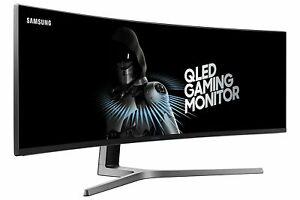 Samsung C49HG90 Monitor 124,20 cm 49 Zoll Multitasking 3840x108 144Hz D59357