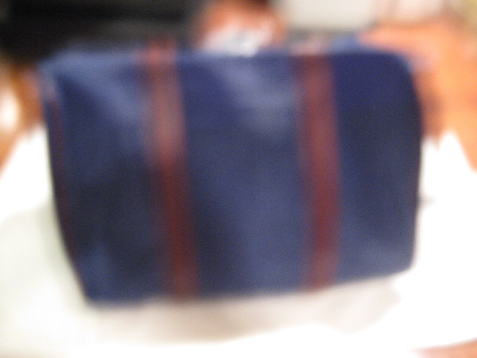 LEATHER AND NYLON BAG , New In Package , Never Usaed