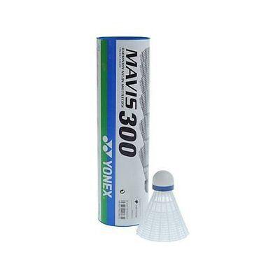 Größe M Geschwindigkeit Schlauch Good Taste Trend Mark Yonex Mavis 300 Badminton Federbälle Weiß