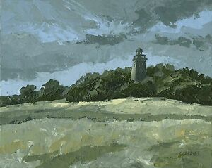 ORIGINAL-LANDSCAPE-PAINTING-Hoober-Stand-Wentworth-Steve-Greaves-Art-Kyffin