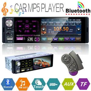1DIN-Car-Radio-HD-Autoradio-mit-Fernbedienung-MP5-Player-Bluetooth-FM-AUX-USB-TF
