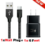 miniature 23 - 3/6/10FT Braided USB C Type-C Fast Charging Data SYNC Charger Cable Cord