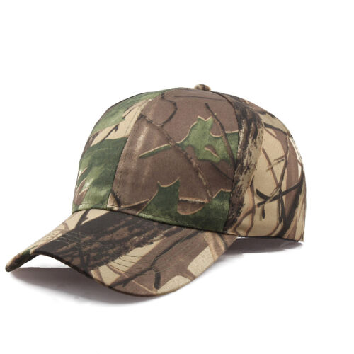 Men Women Camouflage Adjustable Cap Camo Baseball Hunting Fishing Sun  LAWTUS