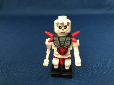 Lego Frakjaw 2521 with Armor with Red Shoulder Spikes Ninjago Minifigure