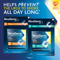 Nicoderm Cq Clear Patches Step 1 Or 2