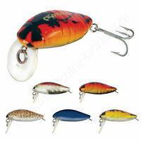 Hard Bait Lure Crank Pike Perch Chub Fishing ULTRA LIGHT Spinning 1'' 2.8cm 1.8g