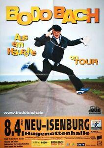 BODO-BACH-2002-NEU-ISENBURG-orig-Concert-Poster-Plakat-A1-F-U-678