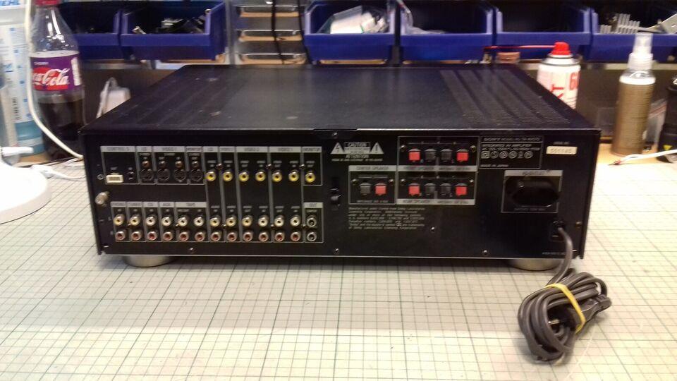 Forstærker, Sony, TA-AV570