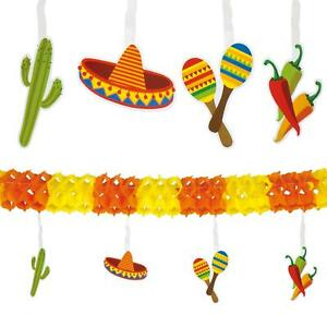 4-Metre-Paper-Garland-Mexican-Fiesta-Summer-Party-Banner-Bunting-Decoration