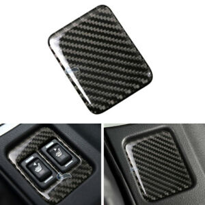 Real-Carbon-Fiber-Seat-Heating-Button-Panel-Cover-For-Toyota-86-Subaru-BRZ-13-17