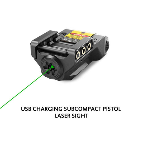 Rechargeable Green Laser Sight with Smart Sense On//Off Switch Quick Operation