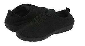 Arcopedico Ls Negro  Shocks  Zapatos de Cordones Plano Tallas para Dama