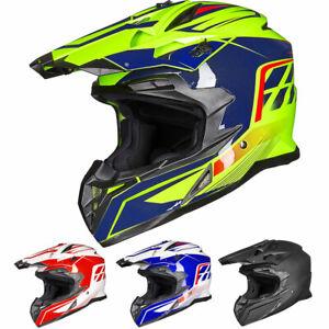 ILM Adult ATV Motocross Off-Road Dirt Bike Full Face Motorcycle Helmet DOT