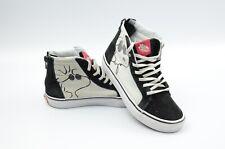 scarpe da skate vans x peanuts sk8 hi charlie mais
