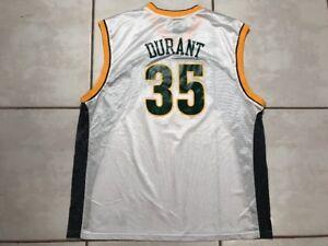 40ad8fb35 Image is loading Rare-Vintage-ADIDAS-Seattle-SuperSonics-Kevin-Durant-NBA-