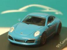 Spark Porsche 911 carrera s miami Blue, traficantes Model - 1/87