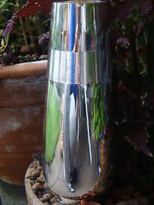 Schlichter Wilkens Vase Versilbert Neuwertig