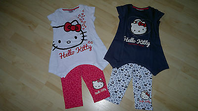 HELLO KITTY SET T-SHIRT & LEGGINGS LEGGINS SHIRT & HOSE 2-TEILER NEUE KOLLEKTION