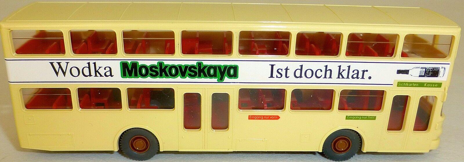Moskovskaya Bus Publicité 69 Reichstag Imprimé Man Sd 200 Aus Wiking 1 87 HM3 Å