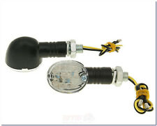 Blinker Set M10 LED Drop schwarz-Jackfox YY50QT, Retro Star, City Star, Formula
