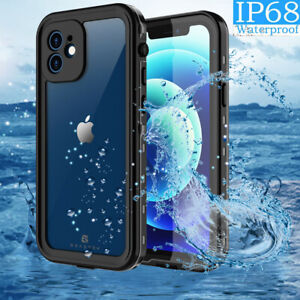 Waterproof Case Cover For Apple iPhone 12 Pro Max Shockproof W/ Screen Protector