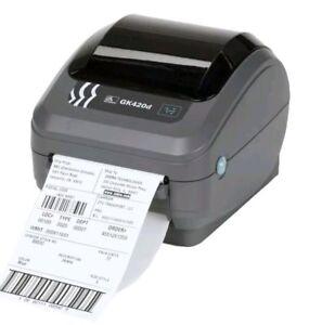 Zebra-GK420d-Thermal-Label-Printer-LAN-Ethernet-Network-USB-USPS-eBay-Shipping