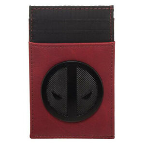 Marvel-Deadpool-Credit-Card-Holder-Red-Wallet-NEW-IN-STOCK