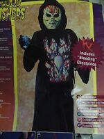 Blood Gushers Bleeding Alien Boy's Halloween Dress-up Costume Large 12-14 896