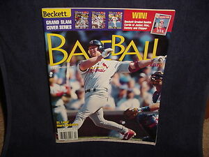 5b16703ad73 Image is loading Beckett-Baseball-Card-Monthly-April-1999-Issue-169-