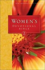 Niv Women's Devotional Bible : A New Collection of Daily Devotions from Godly Women by Zondervan Staff (1996, Hardcover)
